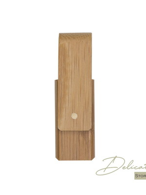 Pen Drive Giratório Bambu - DS0034-4GB