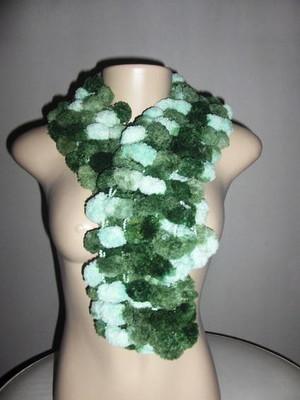 Cachecol Verde Flor