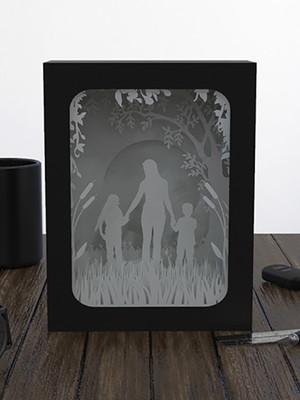 Arquivos de corte shadowbox Dia das Mães
