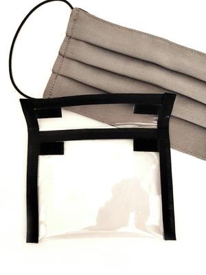 kit máscara de proteção de pregas + capinha porta máscara *
