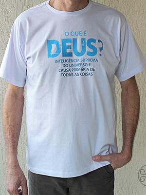 Camisa Quem é Deus?