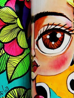 Frida Kahlo | garrafa decorada