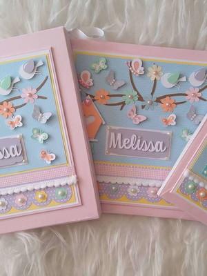 livro bebê menina diário mamãe e caixa jardim encantado