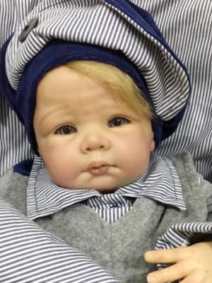Saída de Maternidade Príncipe Cinza Porta Baby