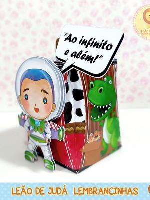 Caixinha para festa tema toy story