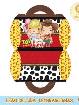 Caixa para festa toy story