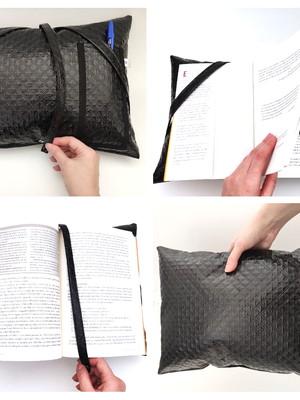 Almofadinha porta livro * 27x37cm