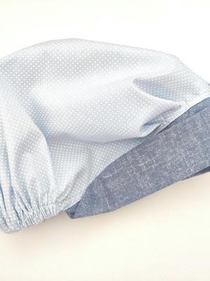 Touca feminina com aba e elástico * escolher tecidos *