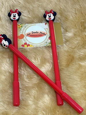 CANETA GEL MINNIE