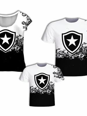 Camisas Pai e Filho + Camisa Mãe - Time Fogão