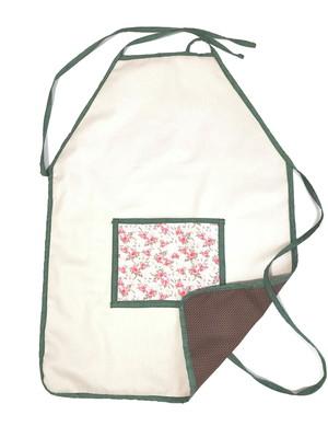 Avental de cozinha modelo dupla face com bolsos *