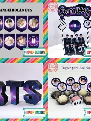 Kit Festa em casa BTS - Mikrokosmos