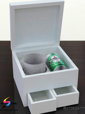 Arquivo de corte caixa gaveteiro para brigadeiros e latinha