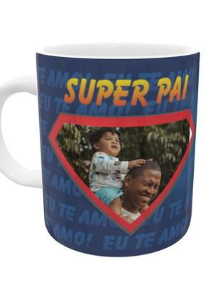 Caneca Super Pai Com Foto