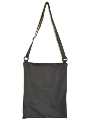 bolsa sacola retangular zíper alça regulável 40x50cm *