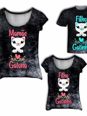 Camisas Mãe, Filha e Filho - Tal Mãe, Tal Filha, Tal Filho