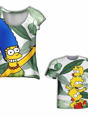 Camisas Mãe e Filho - Simpsons