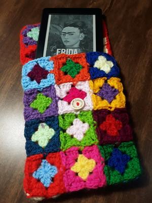 Capa\Case para kindle em crochet