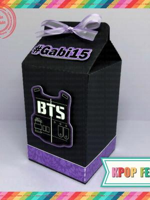 Caixinha Milk BTS - Lilás