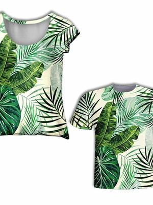 Camisas Mãe e Filho - Tropical
