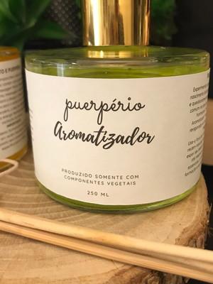 Óleo de Massagem e Aromatizador Naturais Parto e Puerpério