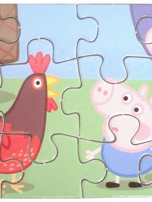 Quebra-Cabeça Infantil 12 peças 14 cm x 9 cm Personalizado