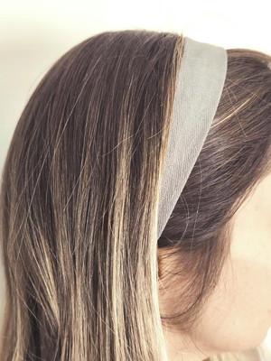 tiarinha faixinha cabelo tecido dupla face tam. adulto *