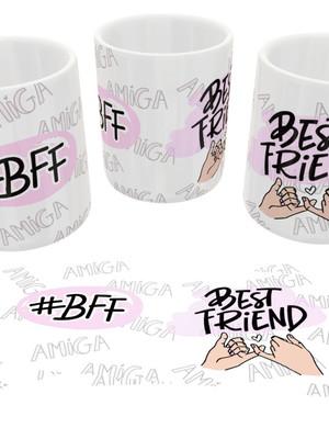 Canecas Personalizadas Para Amiga - BFF