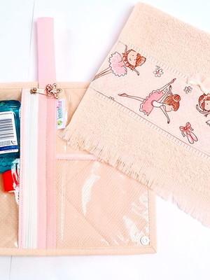 Kit de Higiene Bucal Infantil Personalizado Bailarinas