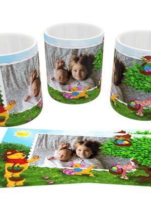 Caneca de Páscoa de Ceramica 325 ml Personalizada com Foto