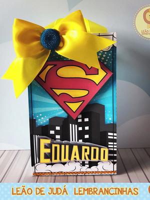 Sacolinha para festa tema superman