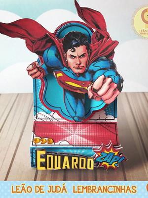 Porta Bis Duplo superman