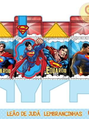 Caixa milk Super homem