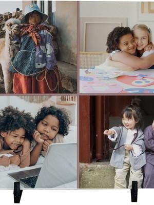 Azulejo Personalizado com Foto de Crianças 20 x 20