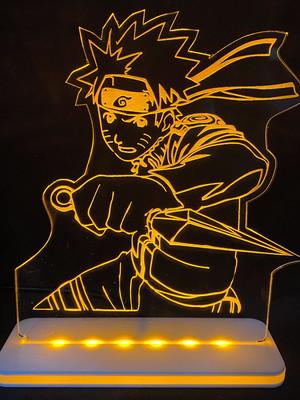 Luminária LED Personalizada Naruto