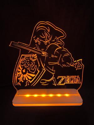 Luminária Gamer: Zelda
