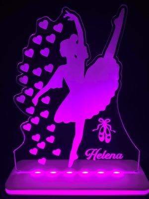 Luminária Personalizada Bailarina