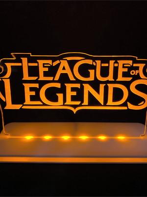 Luminária Gamer: League of Legends
