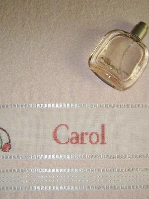Toalha de Rosto - Perfumes - Carol