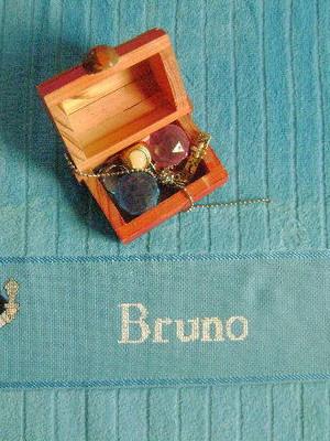 Toalha de Rosto - Pirata - Bruno