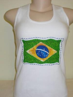 Camisetas Regatas - Brasileira