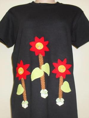 Camiseta -Jardim