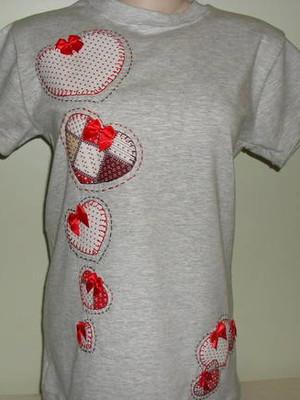 Camiseta - Corações 1