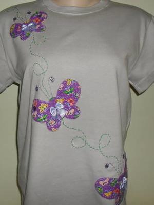Camiseta - Borboletas