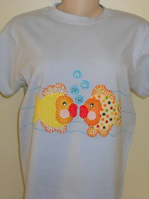 Camiseta - Peixinhos