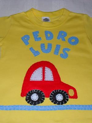 Camiseta Infantil - Carrinho1