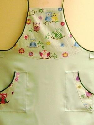 Avental de Cozinha Feminino para Gestante