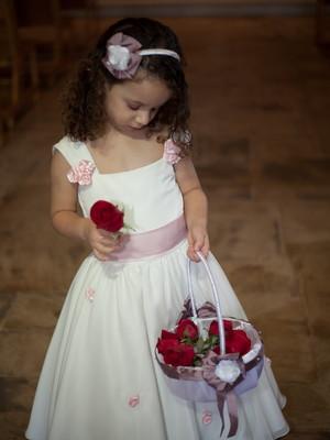 Kit tiara e cesta Princesa