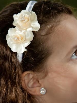 Tiara Florista Amarelo