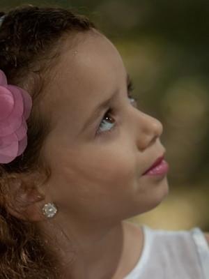 Tiara rosa cristal